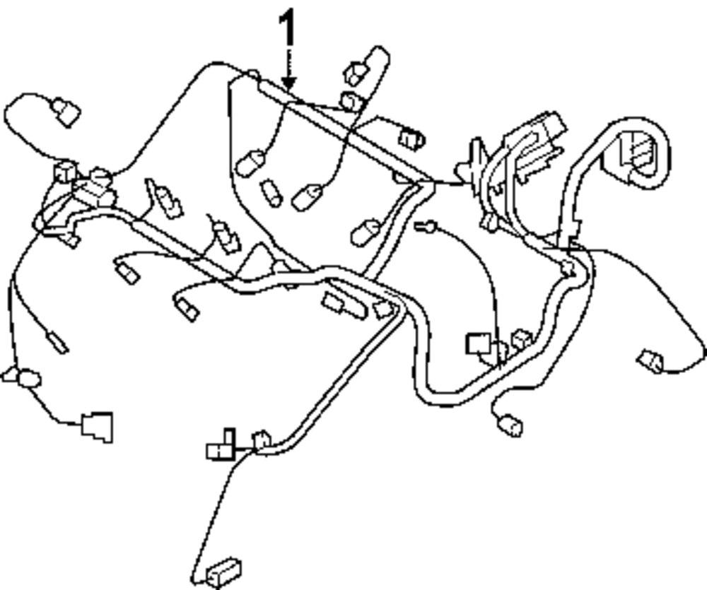Genuine chrysler engine harness chr 4795738af