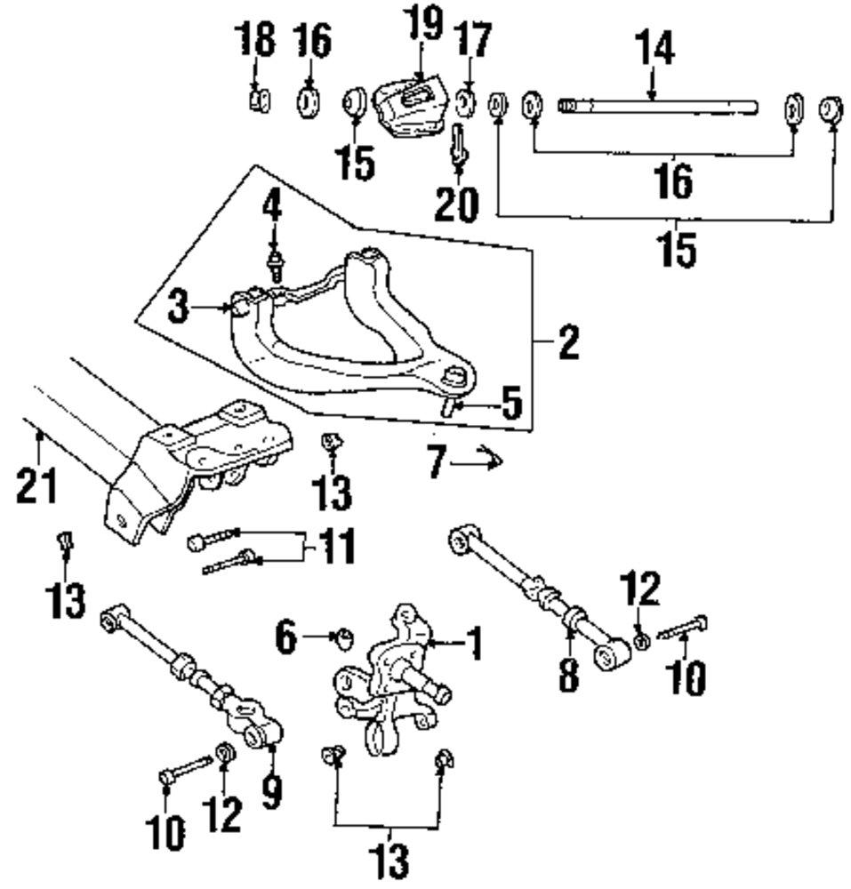 2006 Dodge Stratus Suspension Diagram. Dodge. Auto Parts