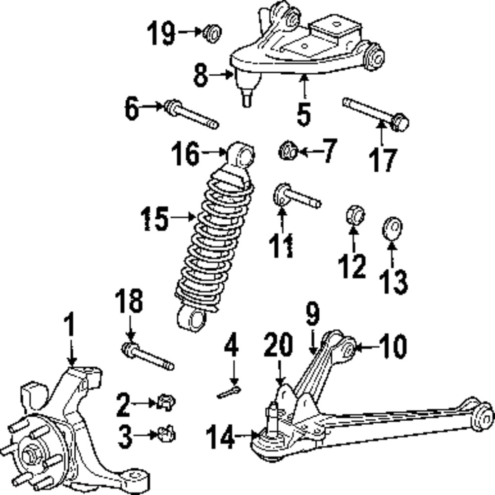 2000 Dodge Durango Front Suspension Diagram. Dodge. Auto