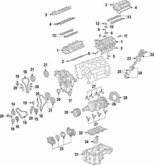 small resolution of genuine pontiac rocker arms pon 24100294