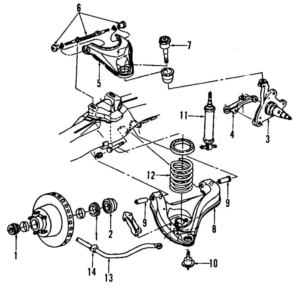 2001 Dodge Ram Front Suspension Diagram