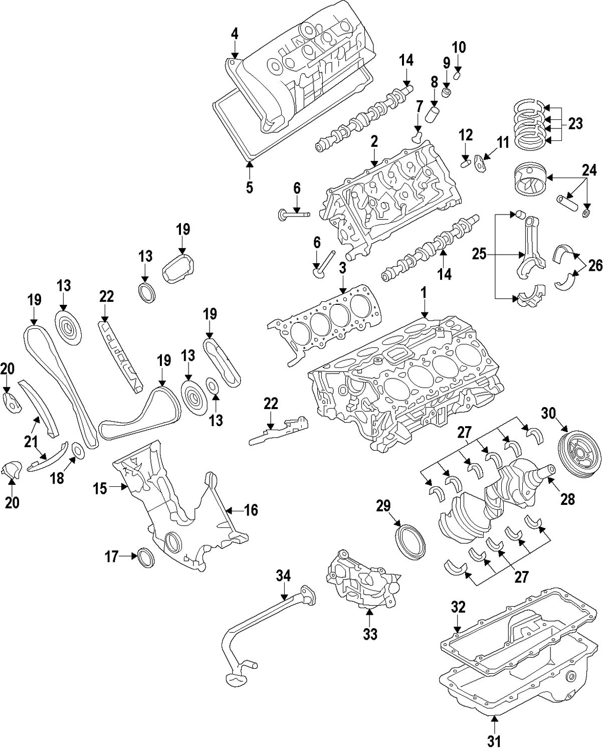 Ford 302 Engine Parts Diagram Weed Eater Lawn Tractor