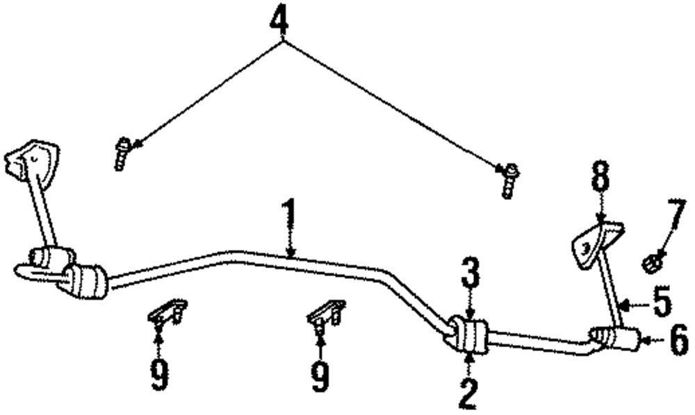 2004 Chrysler Sebring Rear Suspension Diagram, 2004, Free