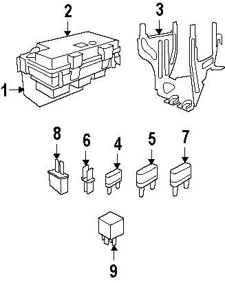 Dodge Ram 2500 Fuse Box Wiring Diagram, Dodge, Free Engine