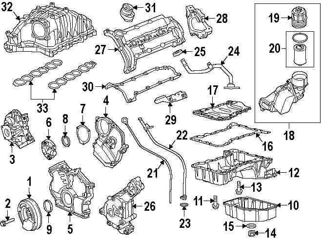 2014 JEEP GRAND CHEROKEE Engine Parts Parts