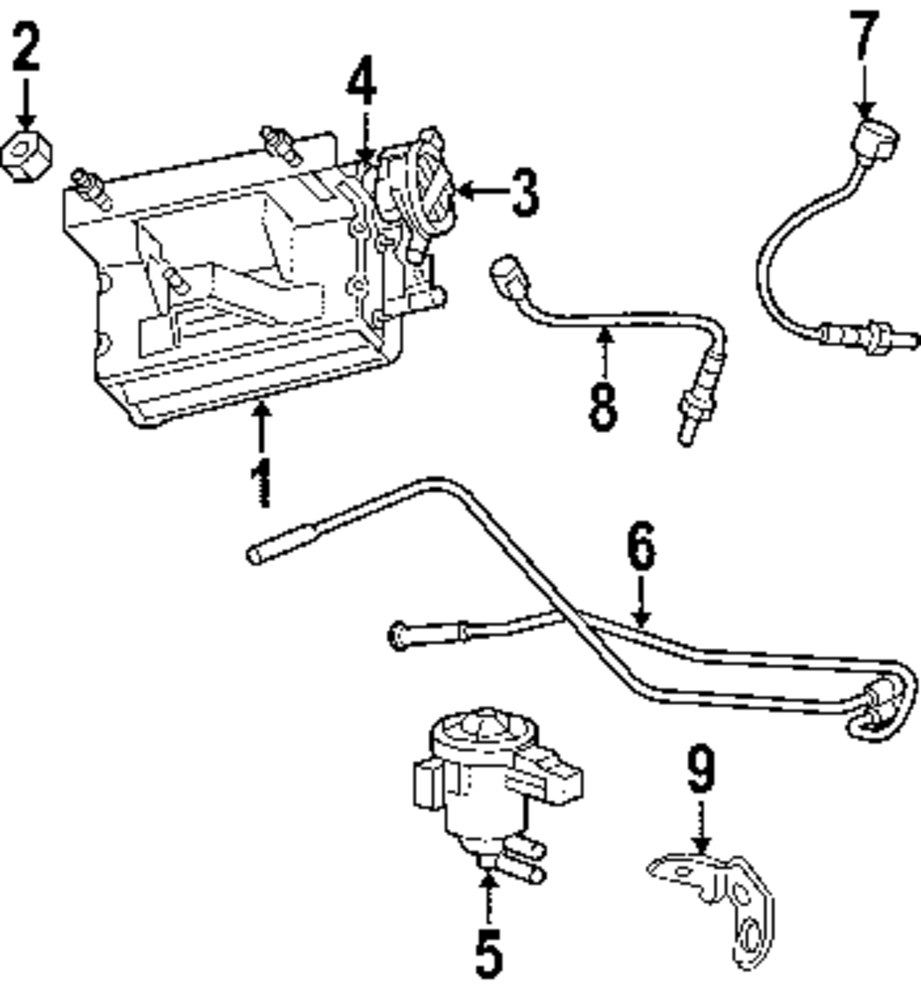 hight resolution of genuine jeep leak detect pump seal jee 52129436aa