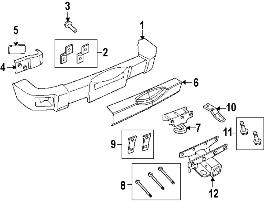 2014 JEEP WRANGLER Bumper And Components Parts