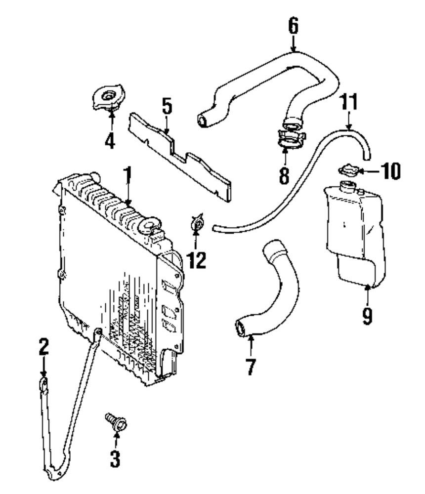 medium resolution of genuine jeep lower hose clamp jee 6502089