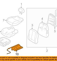 hyundai oem 01 05 elantra front seat occupant sensor 889062d000 hyundai accent engine diagram a diagram [ 1500 x 1197 Pixel ]