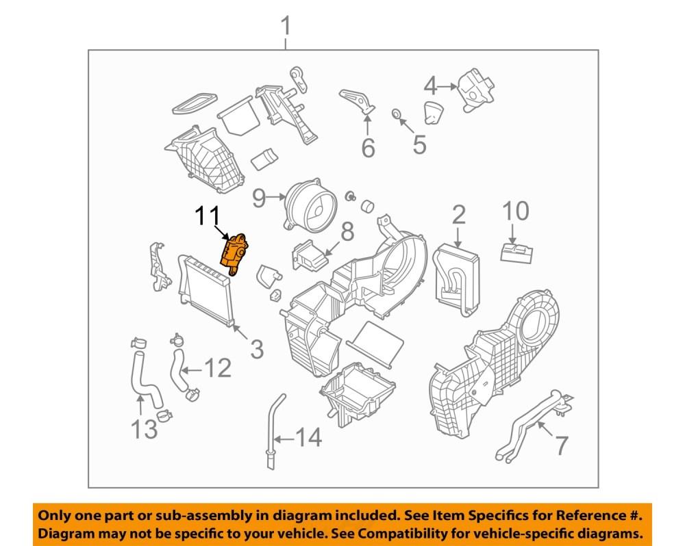 medium resolution of hyundai oem 07 12 veracruz 3 8l v6 rear evaporator temperature motor gmc 305 v6 engine history 3 8l v6 engine diagram