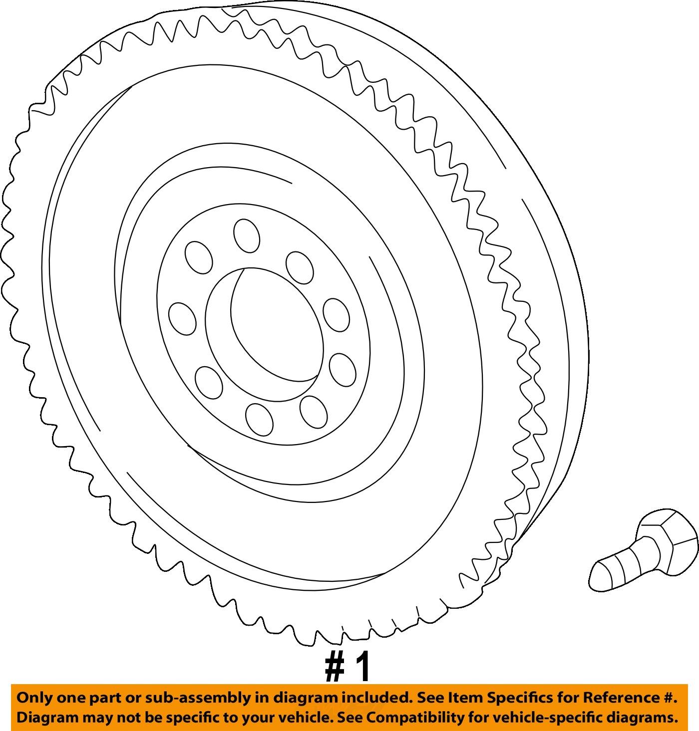 Bmw oem 99 02 540i clutch flywheel 21201223581