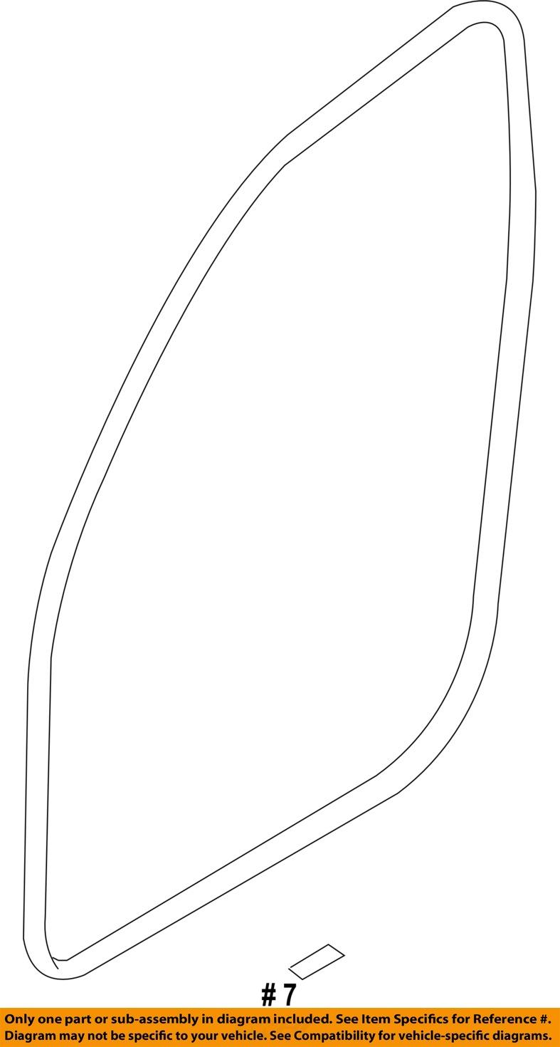BMW OEM 07-12 328i Interior-Weatherstrip Seal on Body