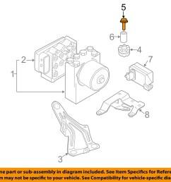 mini oem 02 08 cooper abs anti lock brake system repair kit bolt 07146971298 [ 1500 x 1197 Pixel ]