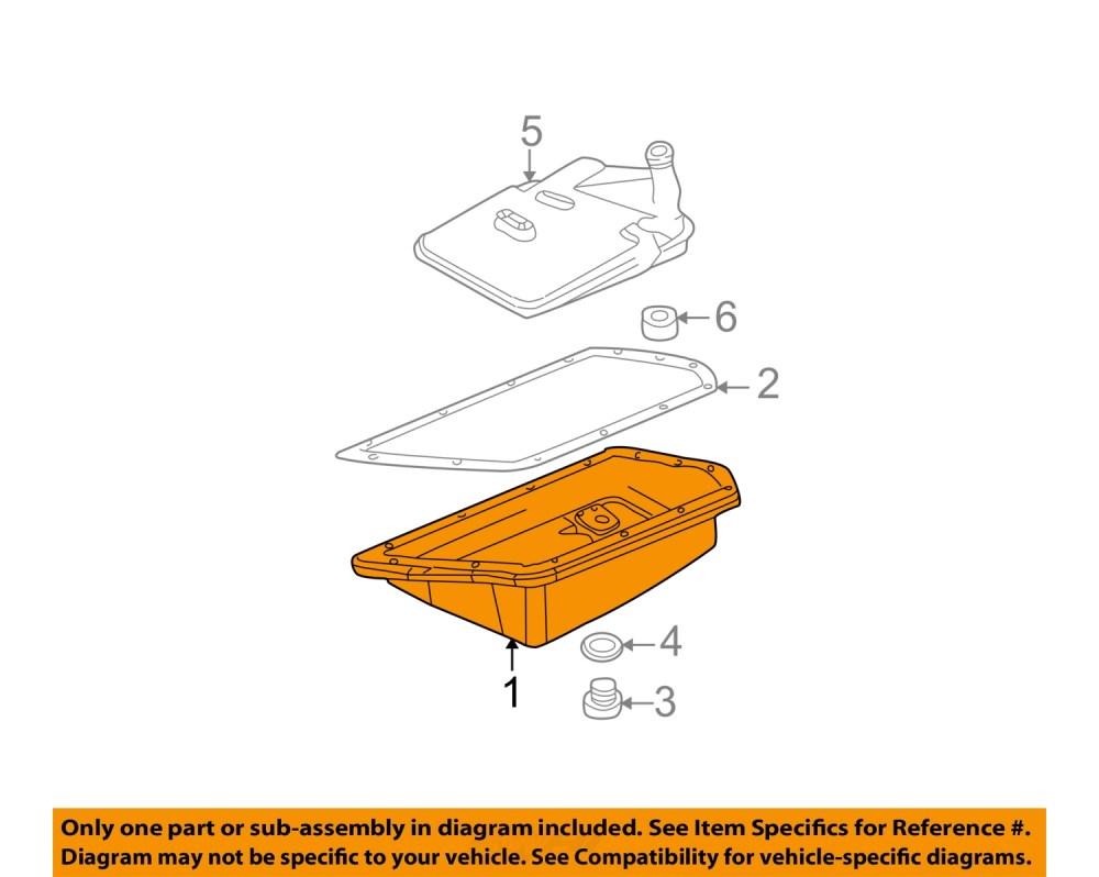 medium resolution of details about mini oem 02 08 cooper trans pan 24117564341