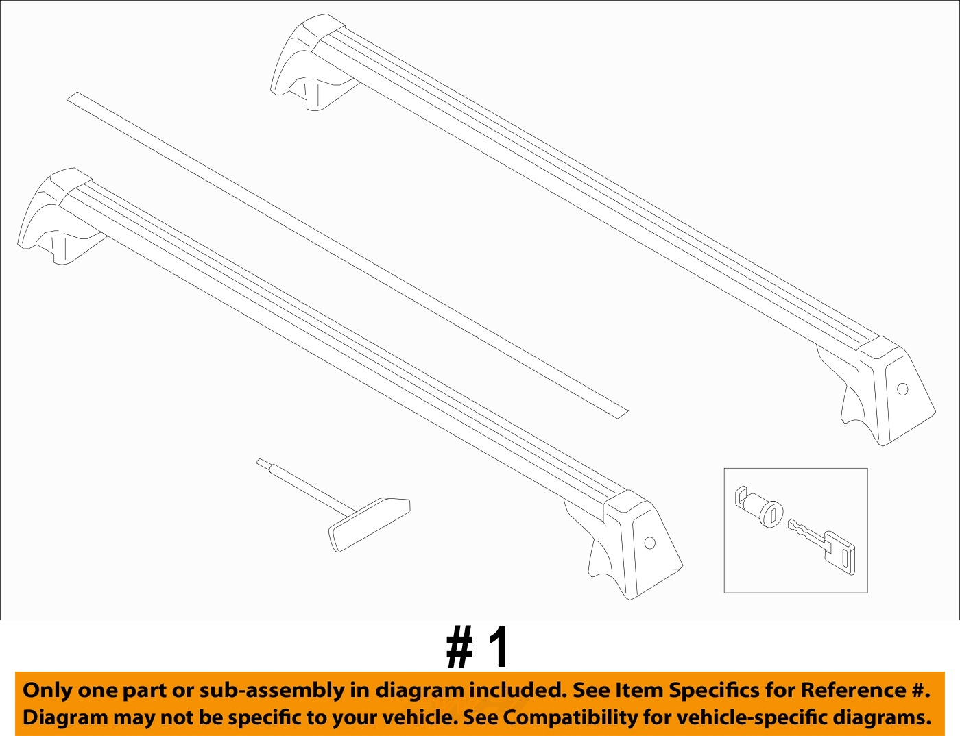 hight resolution of mini countryman r60 base roof rack factory mini brand 6 6 of 6 see more
