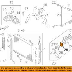 3800 Engine Cooling System Diagram Audi A4 B5 Airbag Wiring Kia Oem 03 06 Sorento 3 5l V6 Radiator Gasket 2562339800