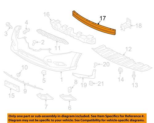 small resolution of nissan oem 14 16 rogue front bumper impact reinforcement bar rebar 620304ba0a nissan oem 14 16 rogue front bumper impact reinforcement bar rebar 620304ba0a