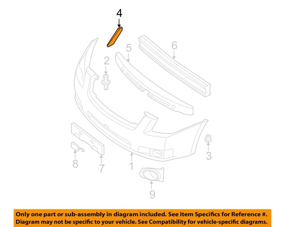 medium resolution of  4 on diagram only genuine oe factory original item