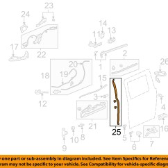 Honda Odyssey Sliding Door Parts Diagram Subwoofer Wiring Sensor Location