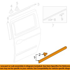 Honda Odyssey Sliding Door Parts Diagram Visio 3d Network Oem 05 10 Side Body
