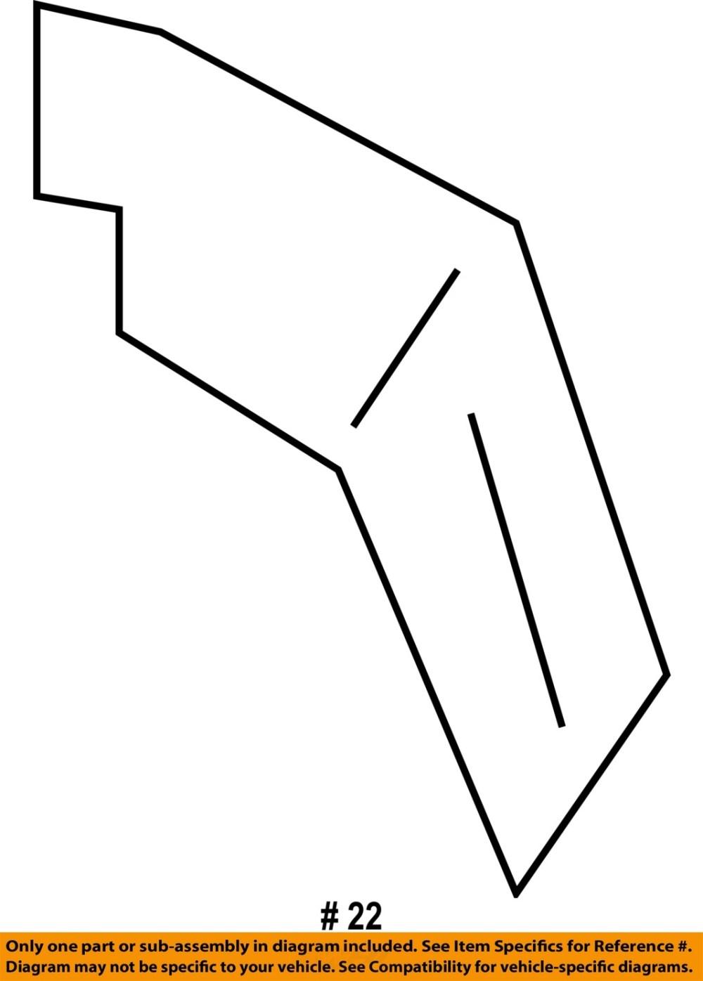 medium resolution of  22 on diagram only genuine oe factory original item