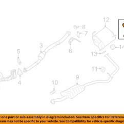 Subaru Impreza Exhaust System Diagram Digital Frequency Counter Block Oem 10 11 2 5l H4 Tail Pipe