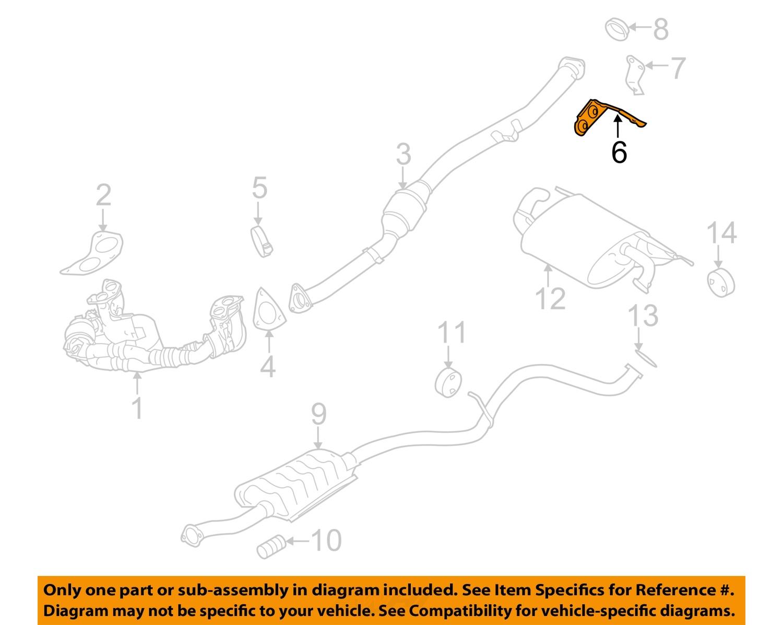 subaru impreza exhaust system diagram whirlpool duet sport wiring oem catalytic converter