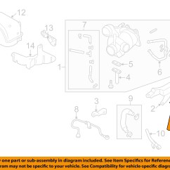 Subaru Forester Parts Diagram Visio Call Flow Oem 09 13 Turbocharger Turbo Hose