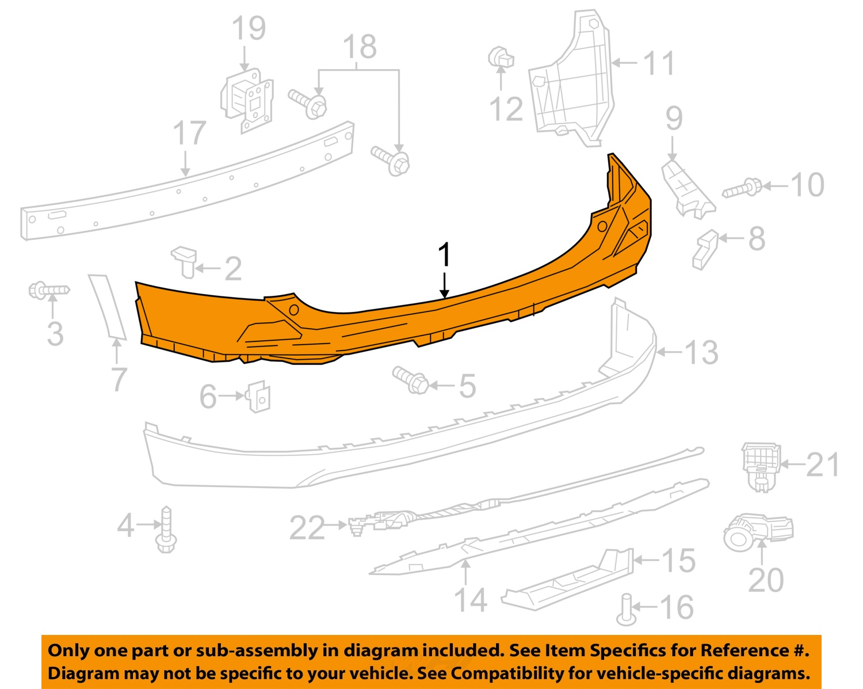 toyota rav4 parts diagram 1988 ezgo golf cart wiring oem 2016 rear bumper cover 5215942930