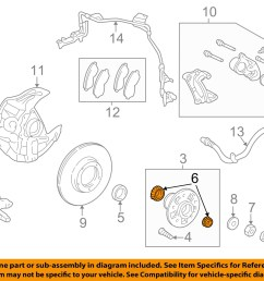toyota oem 95 04 tacoma axle bearing and hub assembly 2003 toyota tacoma parts diagram 2013 [ 1500 x 1197 Pixel ]