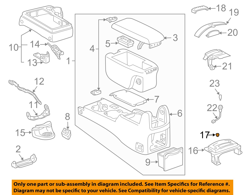 1996 toyota tacoma parts diagram subaru wiring color codes center console auto