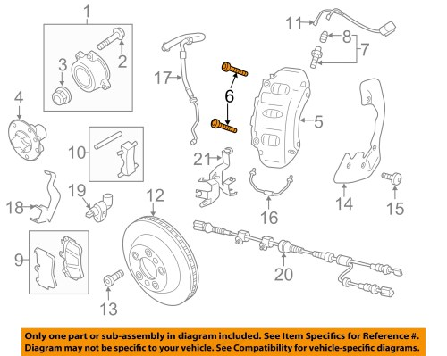 small resolution of  6 on diagram only genuine oe factory original item