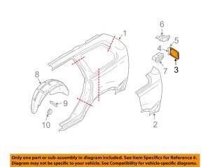 VOLVO OEM 0109 S60 Fuel DoorGas Cap Hatch 9187720 | eBay