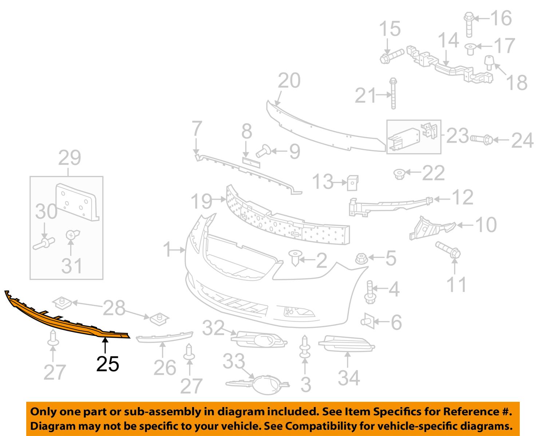 2010 Buick Lacrosse Front Fuse Box Diagram
