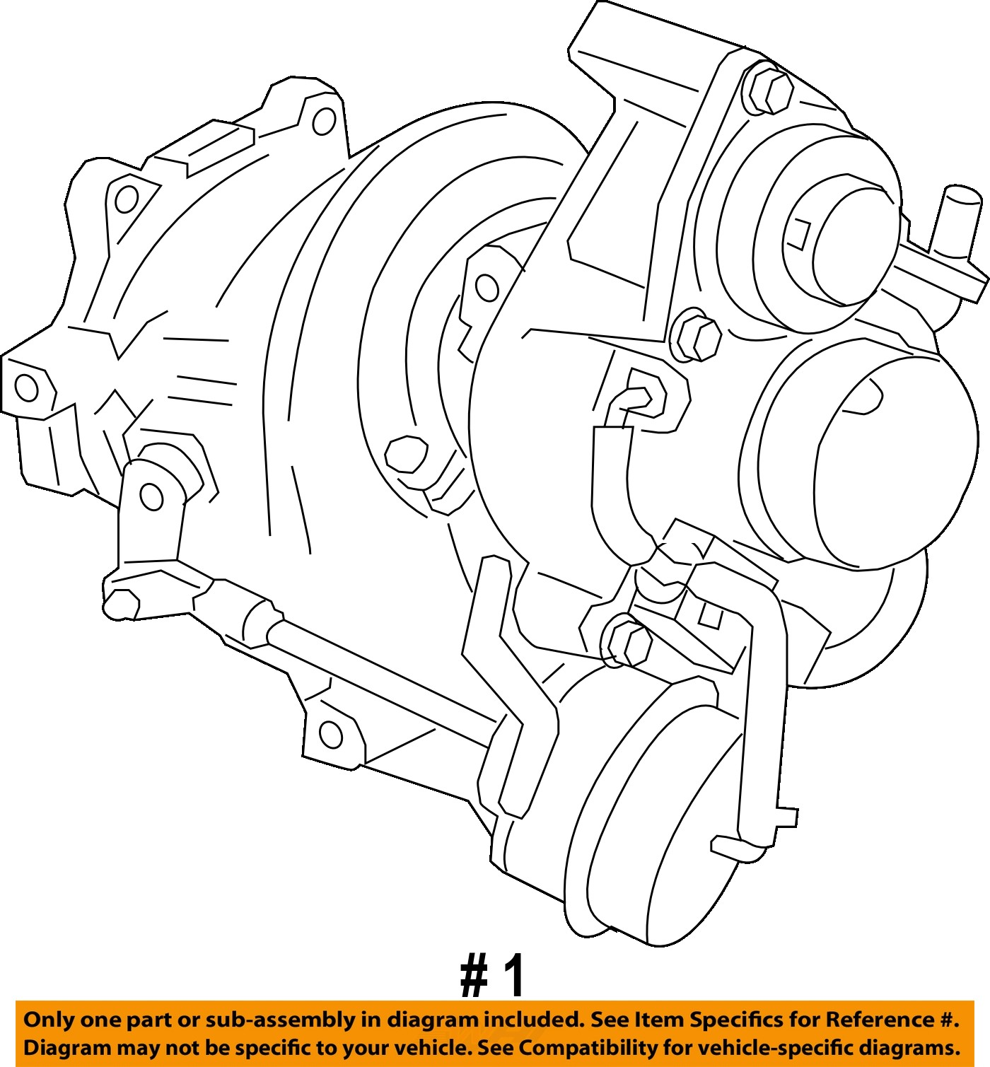 hight resolution of remanufactured gm oem turbocharger turbo 12658317 for sale part 12658317