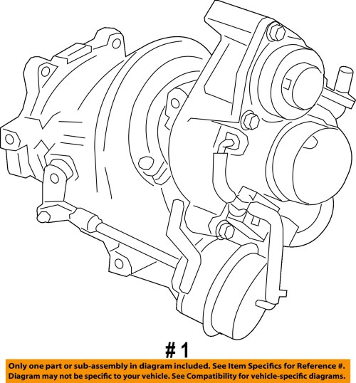 small resolution of remanufactured gm oem turbocharger turbo 12658317 for sale part 12658317