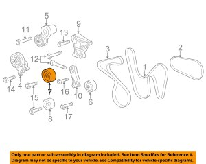 GM OEMDrive Belt Idler Pulley 12606032 | eBay