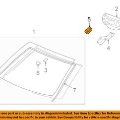 Frontal Rainfall Diagram 4 Pin Relay Wiring Lights Gm Oem Windshield Rain Sensor 25831579 Ebay