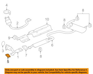 GM OEM ExhaustConverter & Pipe Gasket 22626929   eBay