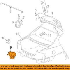 Trunk Lid Grand New Avanza Harga Headlamp Veloz Pontiac Gm Oem 99 05 Am Lock Or Actuator Latch