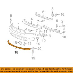 2007 Chevy Suburban Parts Diagram Sca Dual Battery Kit Wiring Chevrolet Gm Oem 1500 Front Bumper Spoiler Lip