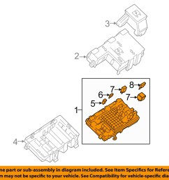 1 on diagram only genuine oe factory original item gm oem electrical fuse  [ 1500 x 1197 Pixel ]