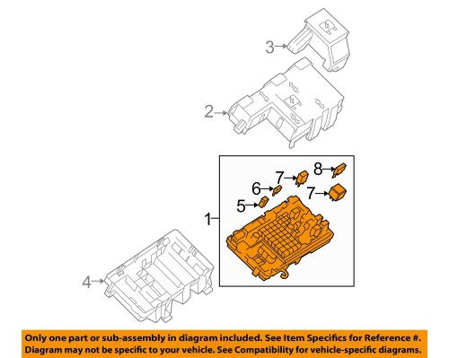 small resolution of  1 on diagram only genuine oe factory original item gm oem electrical fuse