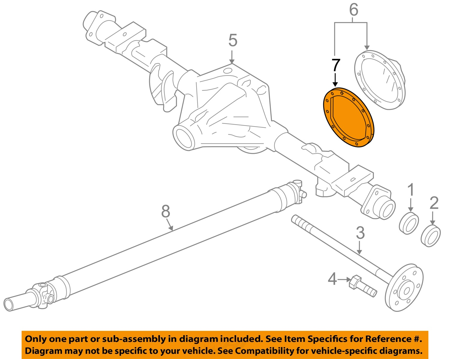 parts of a pumpkin diagram wiring house gm oem rear axle differential cover gasket