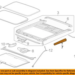 2007 Chevy Tahoe Parts Diagram Logic Of 8 To 1 Line Multiplexer Gm Oem Sunroof Side Cover 22891498