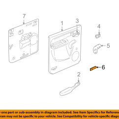 2007 Chevy Avalanche Parts Diagram Est Smoke Detector Wiring 2003 Suburban Passenger Rear Door Reflector