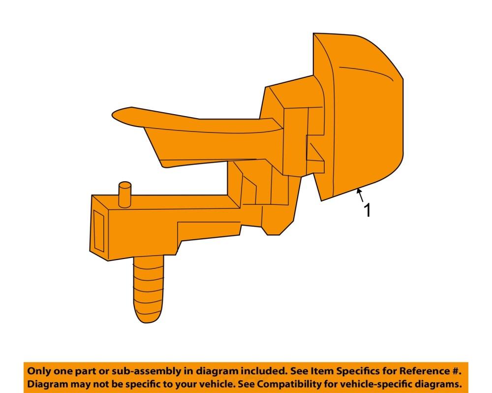 medium resolution of  1 on diagram only genuine oe factory original item