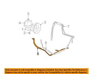 GM OEMPower Steering Return Hose 26087520 | eBay