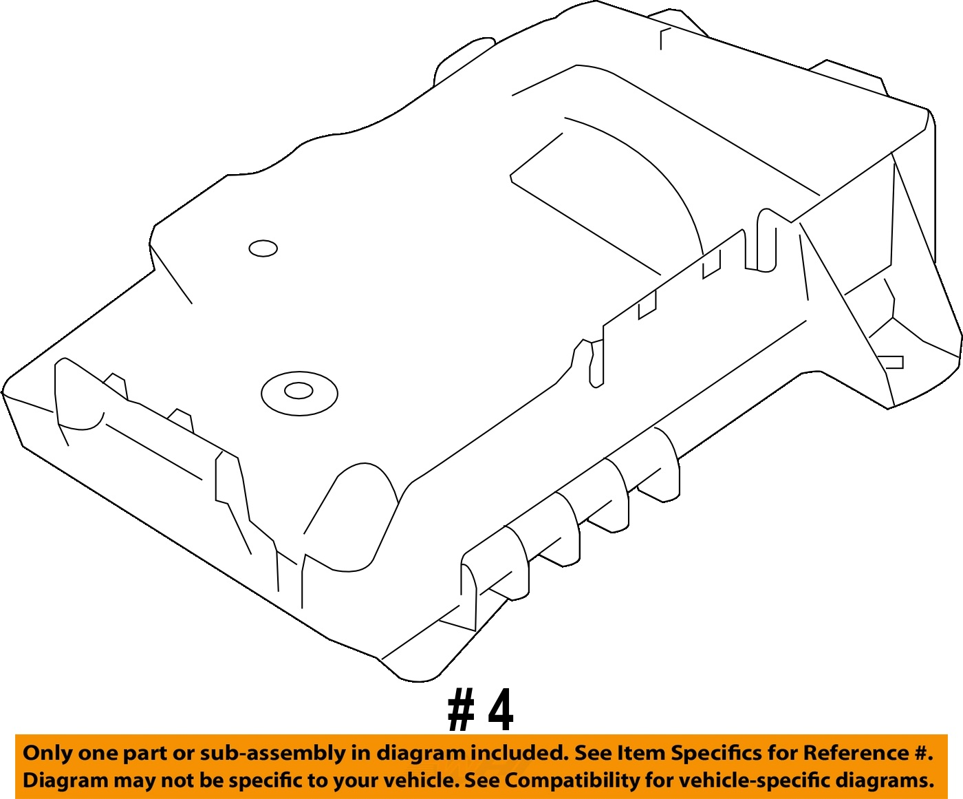 hight resolution of saturn gm oem 2008 astra 1 8l l4 battery tray 13234223 2 2 of 2 see more
