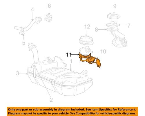 small resolution of ford oem 99 04 mustang 4 6l v8 fuel system fuel sender